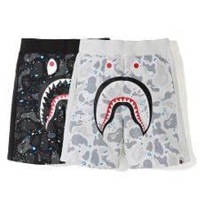 Shark, Shorts, pants, Men