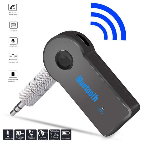 Bluetooth Transmitter Usb Wireless Bluetooth Adapter Connected To 3 5mm Audio Receiver Devices Low Latency Paired For Pc Tv Headphones Car Home Stereo Music Wish