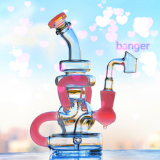 Pipe, pink, Glass, oil rigs
