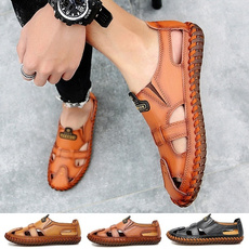 Summer, Fashion, sandalsformen, leather