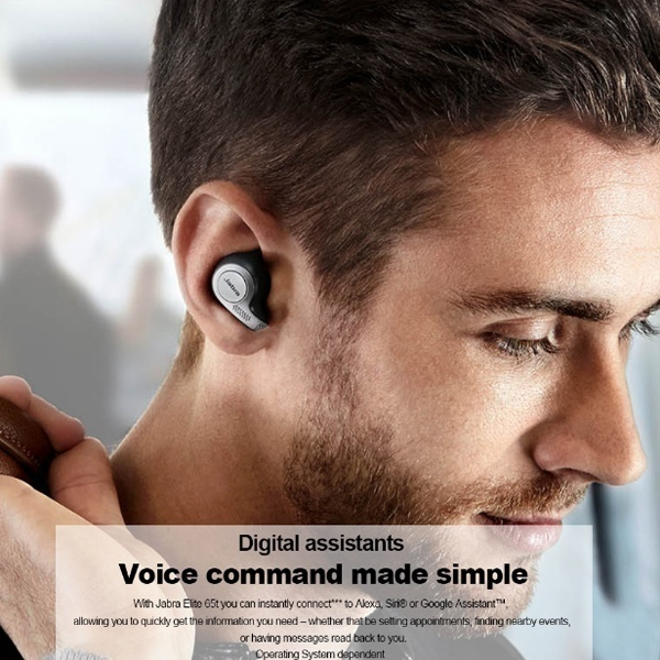 20201 1 Refurbished Jabra Elite 65t Alexa Enabled True Wireless Earbuds With Charging Case Waterproof Bluetooth Earphones In Ear Home