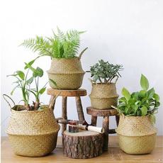 panierderangement, Pot, Handmade, fleur