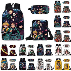 demonslayerbookbag, demonslayerprintingbackpack, purses, Backpacks
