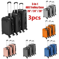 trolleycase, case, Abs, Capacity