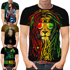 Summer, bobmarleytshirt, reggae, reggaetshirt