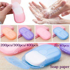 Mini, sanitarysoappaper, portable, handsoap