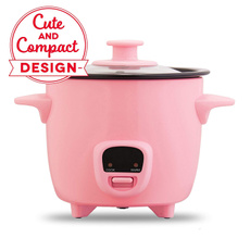 pink, Mini, steamer, ricecooker