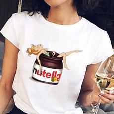 cute, korea, Graphic Shirt, Harajuku