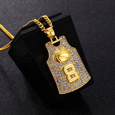 Bling, bling bling, Men, gold necklace