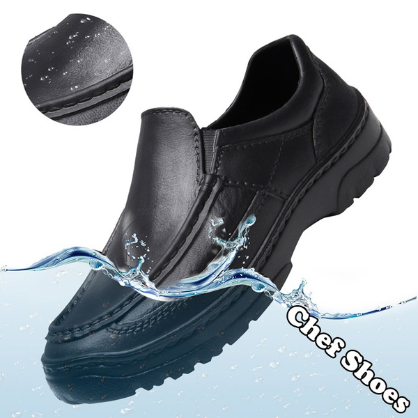 Men Shoes EVA Non-slip Waterproof Oil
