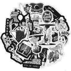 Car Sticker, skullsticker, Tech & Gadgets, skull