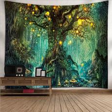 Plants, foresttapestry, mandalatapestry, Nature
