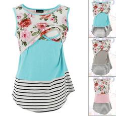 Vest, Fashion, maternitytanktop, stripedmaternityvest