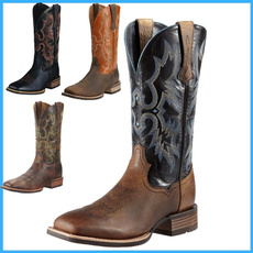 menfashionboot, Fashion, Leather Boots, Cowboy