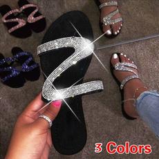 Zapatos, Sandalias, Exterior, Joyería