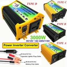 voltagetransformer, Converter, generator, 12vto220inverter
