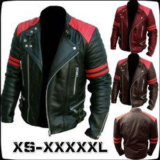 Plus Size, leather, Coat, leather jacket