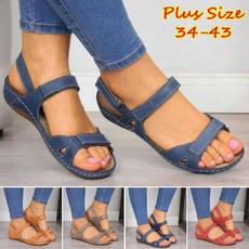 slidesforwomen, sandalendamen, Plus Size, Platform Shoes