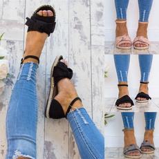Summer, Fashion, Lace, sandalsshoe