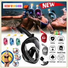 divingmask, antifogmask, snorkelset, Silicone
