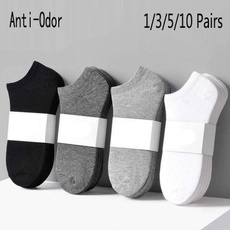 Summer, Cotton Socks, lowcutsock, blacksock