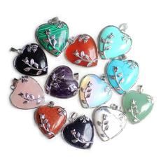 quartz, Love, Jewerly, loveflowerstonependant