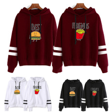 friend, Hamburger, bff, Coat