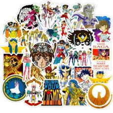 Car Sticker, luggagesticker, saintseiyadoodlesticker, animesticker
