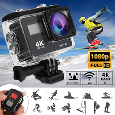4kcamera, sportsampoutdoor, Remote Controls, Waterproof