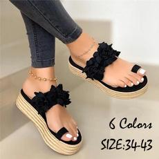 Sandals & Flip Flops, Plus Size, Platform Shoes, Summer
