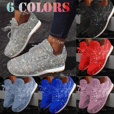 Sneakers, Fashion, Sports & Outdoors, Rhinestone