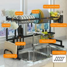 Steel, utensilsholder, Kitchen & Dining, dishstorage