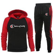leisuresportssuit, Two-Piece Suits, Champion, Sleeve