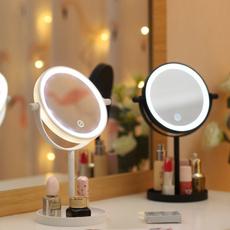 Makeup Mirrors, swivel, Fashion, Touch Screen