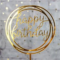 happybirthday, party, cakeflag, happybirthdaycaketopper