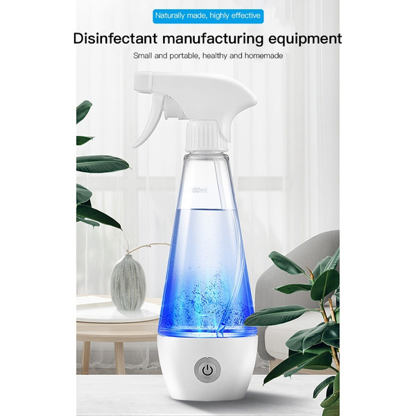 Portable Electric Hypochlorous Acid Water Making Machine Disinfection Maker