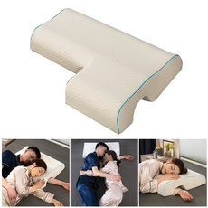 housewares, memory foam, couplespillow, armresthandpillow