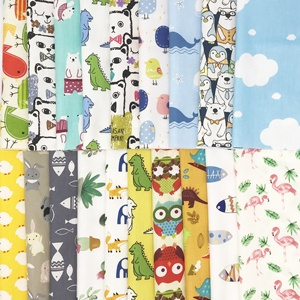 1 Pcs Cartoon Quilting Cotton Fabric Patchwork Bundle Tissue Fabrics For Diy Handmade Bags Purse Pillowcase Bedding Quilting Wish