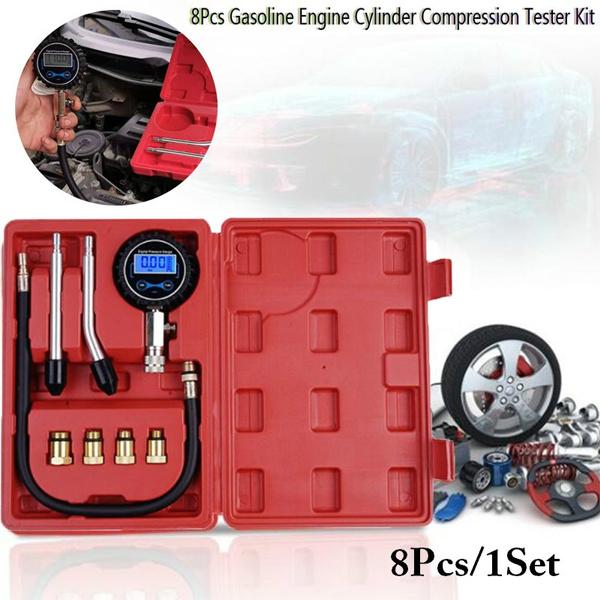 Tools 8pcs kit, Red