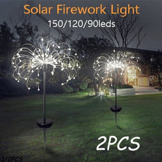 Outdoor, Garden, solarfireworkslight, lights