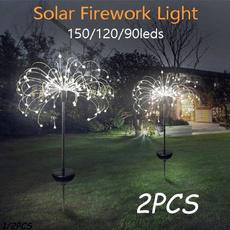 Outdoor, Garden, solarfireworkslight, lights