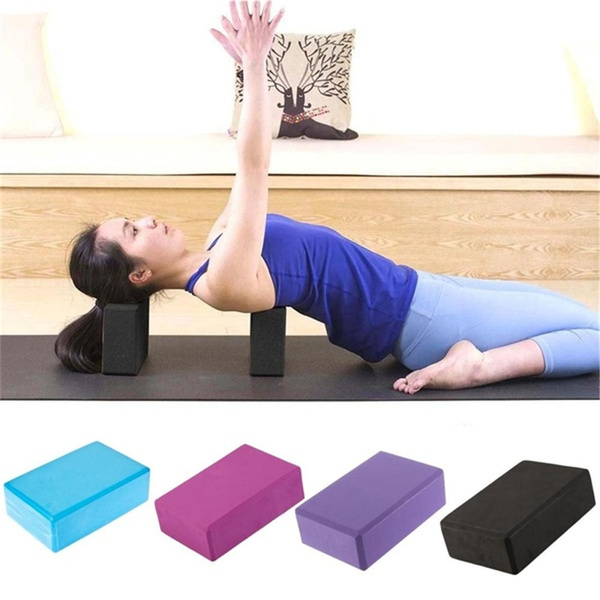 Yoga Block EVA Brick Foaming Home Exercise Stretching Body Fitness Tool Fashion