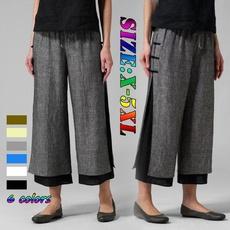 trousers, Waist, chiffon, pants