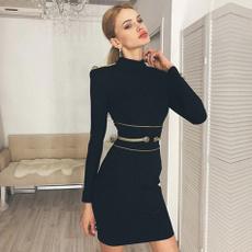 Mini, Club Dress, evening, Winter