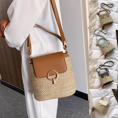 women's shoulder bags, wovenbag, women bags, Shoulder Bags