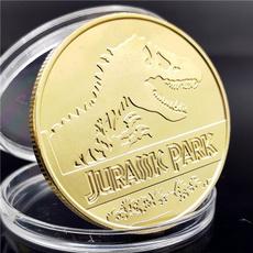 Jewelry, dinosaurcoin, gold, dinosaurcommemorativecoin