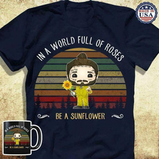 Fashion, Shirt, Sunflowers, wishtshirt