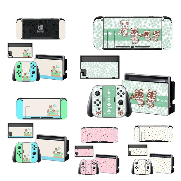 For Nintendo Switch Animal Crossing Stickers Vinyl Protective