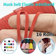 elasticrope, elastic belt, Elastic, Masks