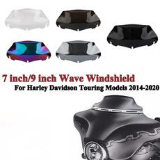 windshield, Harley Davidson, glide, touring